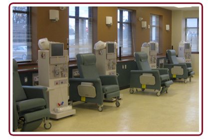 King George Dialysis Chairs